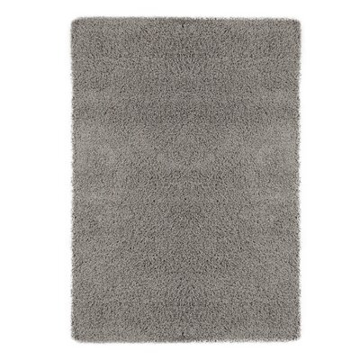Christiane Plush Shaggy Gray Area Rug