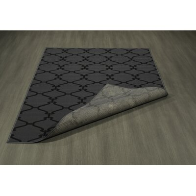 Clifton Dark Gray Area Rug Rug Size: 710 x 910