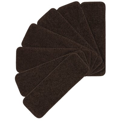 Luxury Brown Stair Treads Quantity: 7 Pack