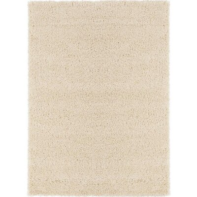 Cozy Ivory Area Rug Rug Size: Rectangle 5 x 7