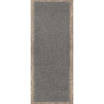 Cozy Gray Area Rug Rug Size: Rectangle 18 x 411