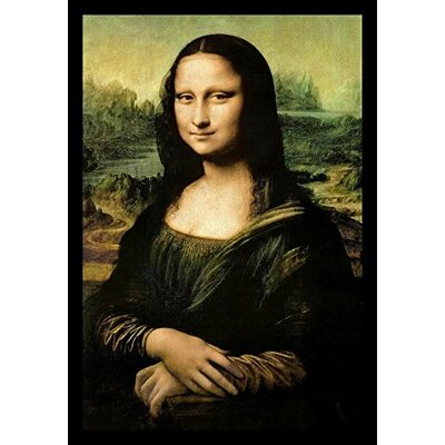 'Mona Lisa' by Leonardo Da Vinci Framed Graphic Art Print