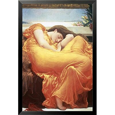 'Flaming June by Lord' Framed Graphic Art Print