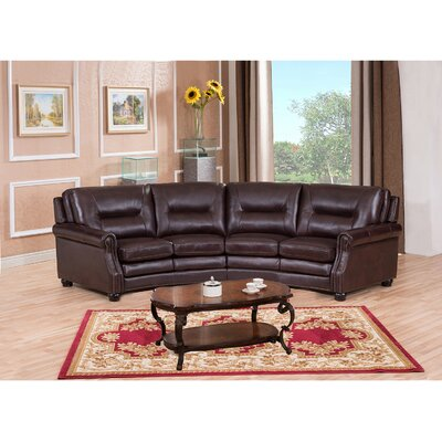 Burnaby Leather Sectional