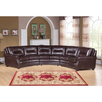 Burnaby Leather Modular Sectional