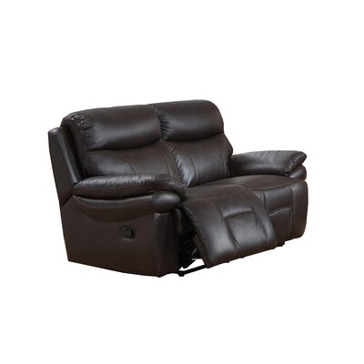 Rushmore Leather Reclining Loveseat