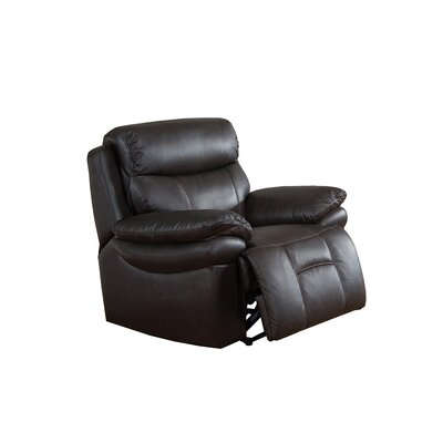 Rushmore Leather Manual Recliner
