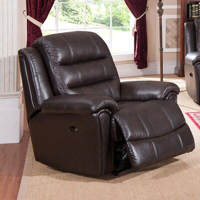 Astoria Leather Power Recliner