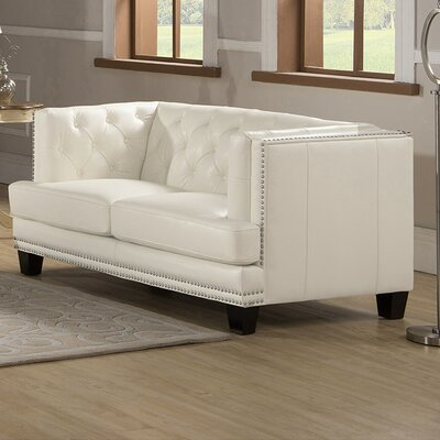 Newport Chesterfield Loveseat