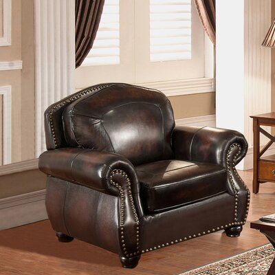 Vail Leather Club Chair