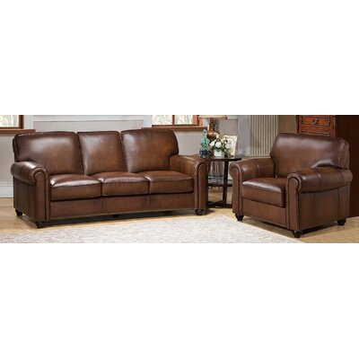 Aspen 2 Piece Leather Living Room Set