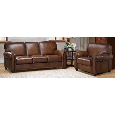 Aspen 2 Piece Leather Living Room Set