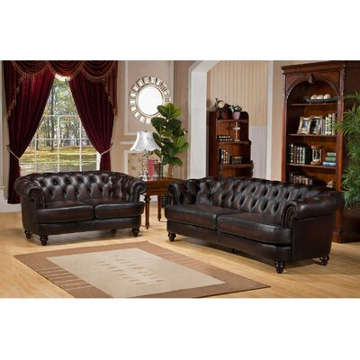 Roosevelt 2 Piece Living Room Set