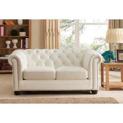 Nashville Leather Loveseat
