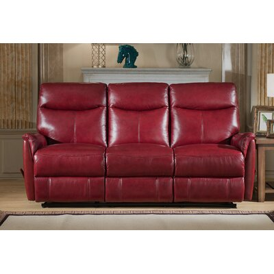 Napa 3 Piece Leather Living Room Set