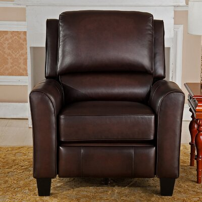 Yale Leather Power Recliner with USB Port