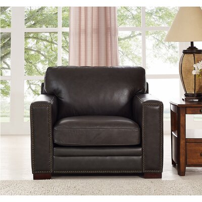 Caitlynne Leather Club Chair