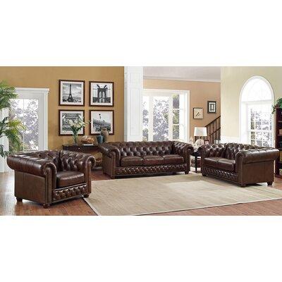 Walsh Leather Living Room Set