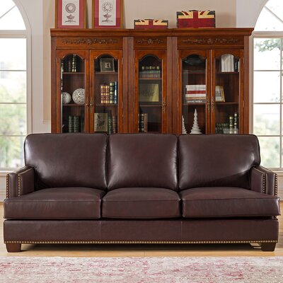 Owens Leather Sofa