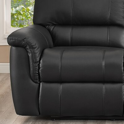 Averill Leather Reclining Sofa