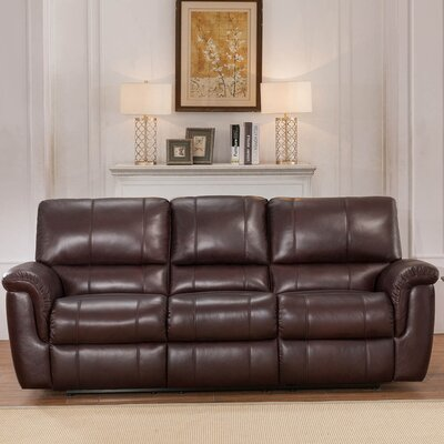 Ayler Leather Reclining Sofa