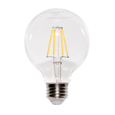 4.5W E2/Candelabra LED Light Bulb Pack of 6