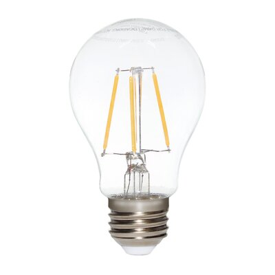 7W E2/Candelabra LED Light Bulb Pack of 6