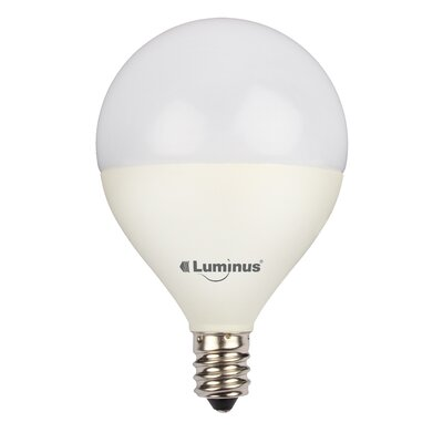5W E26/Medium LED Light Bulb Pack of 6