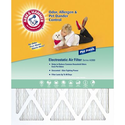 """Dupont Arm and Hammer Pet Fresh Pet Protection Air Filter - Size: 16"""" x 20"""" at Sears.com"""