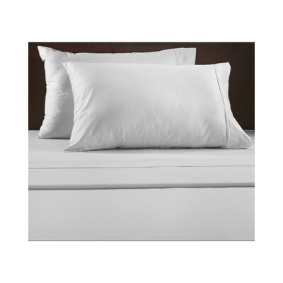 Luxury 600 Thread Count Solid Sheet Set Color: White, Size: Queen