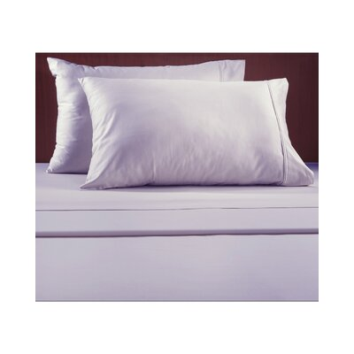 Luxury 600 Thread Count Solid Sheet Set Color: Lilac, Size: Full