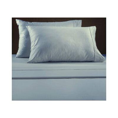 Luxury 600 Thread Count Solid Sheet Set Color: Blue, Size: Queen