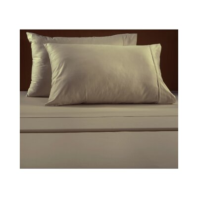 Luxury 600 Thread Count Solid Sheet Set Color: Linen, Size: California King