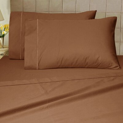 1200 Thread Count Sheet Set Color: Mocha, Size: King