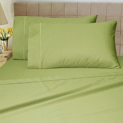 1200 Thread Count Sheet Set Size: Queen, Color: Moss
