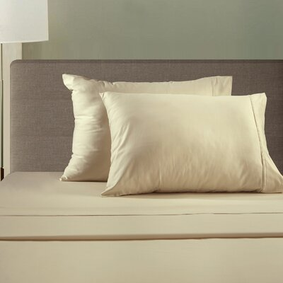 510 Thread Count Sheet Set Size: King, Color: Ivory