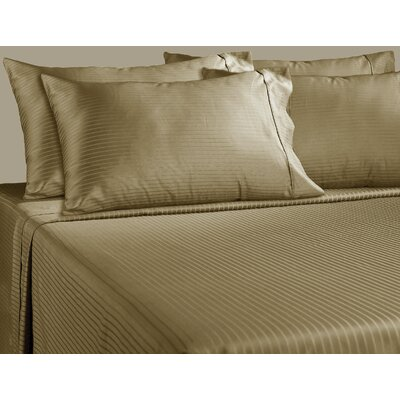 700 Thread Count Sheet Set Color: Taupe, Size: Queen