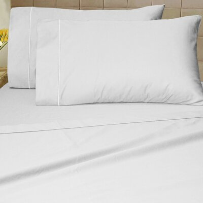 1200 Thread Count Sheet Set Size: Queen, Color: White