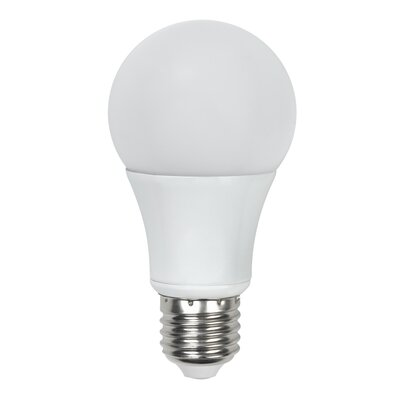 8W A19 Standard LED Bulb with Dimmable and Omni-Directional