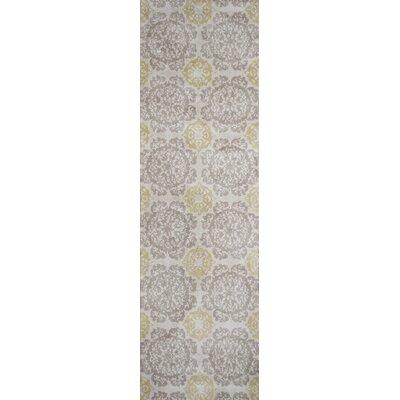 Ostrander Silver/Gold Newport Area Rug Rug Size: Runner 23 x 76