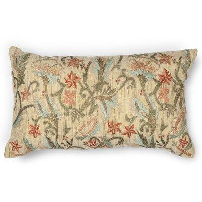 Lissie Spring Garden Linen Lumbar Pillow