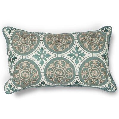 Worley Medallions Cotton Lumbar Pillow