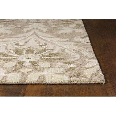 Coronet Hand-Tufted Ivory/Brown Area Rug