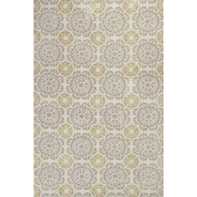 Porterdale Bailor Hand-Tufted Silver/Gold Millbridge Area Rug
