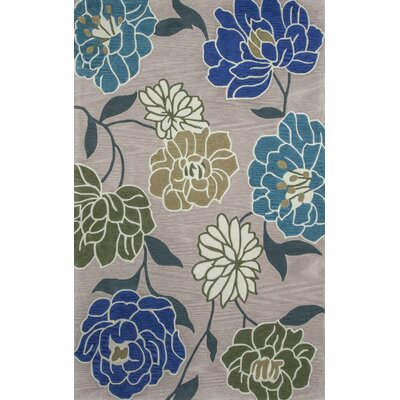 Bradshaw Hand-Tufted Blue Area Rug Rug Size: 8 x 10