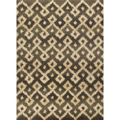 Brayden Gray/Sand Villa Area Rug Rug Size: 27 x 411