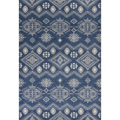 Kaylin Denim Area Rug Rug Size: 53 x 77