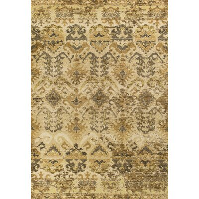 Holbrook Oriental Sand Area Rug Rug Size: Rectangle 53 x 77
