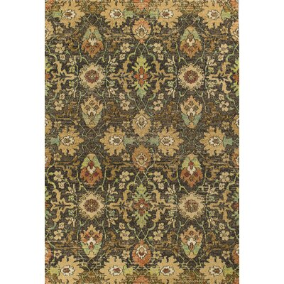 Sickles Mocha Area Rug Rug Size: Rectangle 33 x 411