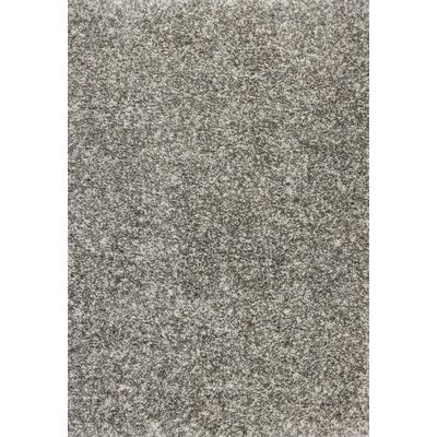 Crippen Heather Gray Area Rug Rug Size: 33 x 53